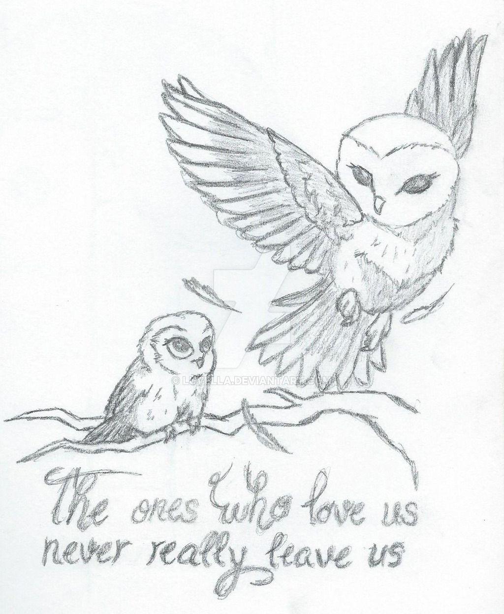 Mother daughter owls tattoo concept by luvella deviantart com on deviantart