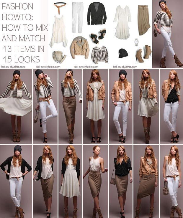 a55304f02b29a Minimal Wardrobe: Spring Summer 15 Looks With 13 Pieces | STYLE ...