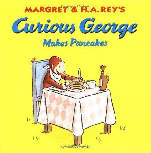 Curious George Makes Pancakes pfannkuchen for kids recipe einfach für kinder von Grund auf und pyjamaparty
