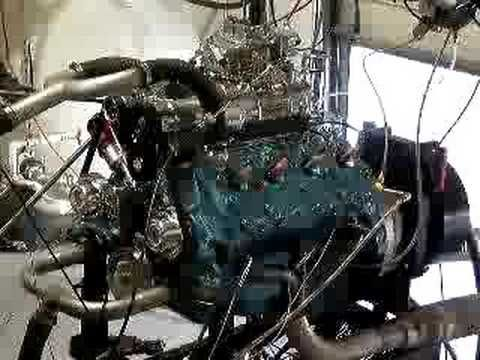 286 supercharged Ford flathead on dyno | Flat head V8's