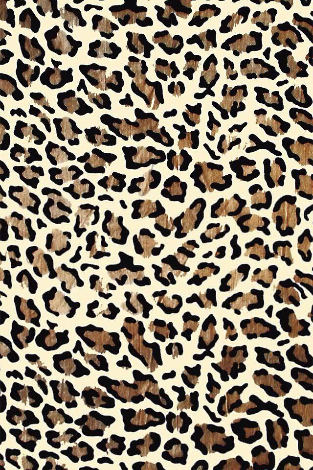 Cheetah print wallpaper on iPhone Cheetah print