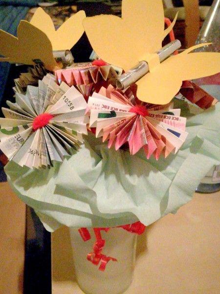 Geld verschenken Teil 2 Eure kreativen Ideen, um Geld zu