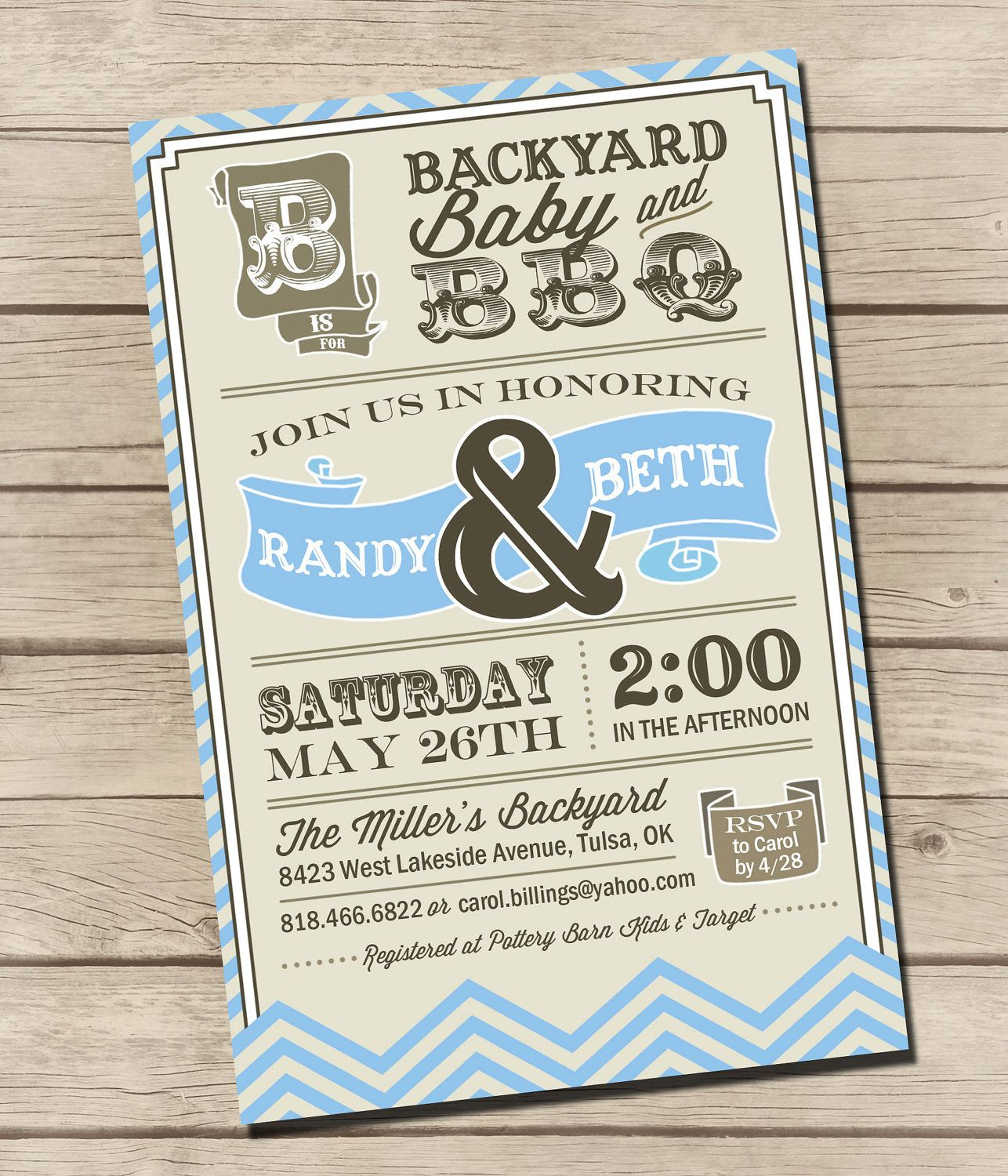 coed baby shower invitations - Like this idea way better than just a ...