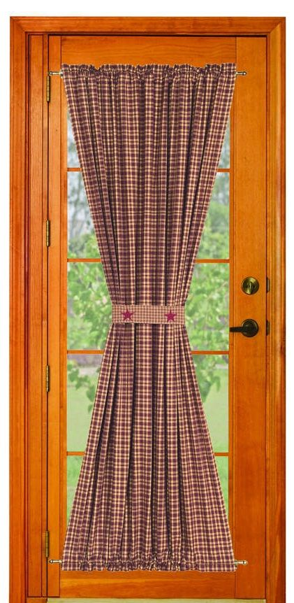 Vintage Star Wine Door Panel Drapes Pinterest Wine Doors And