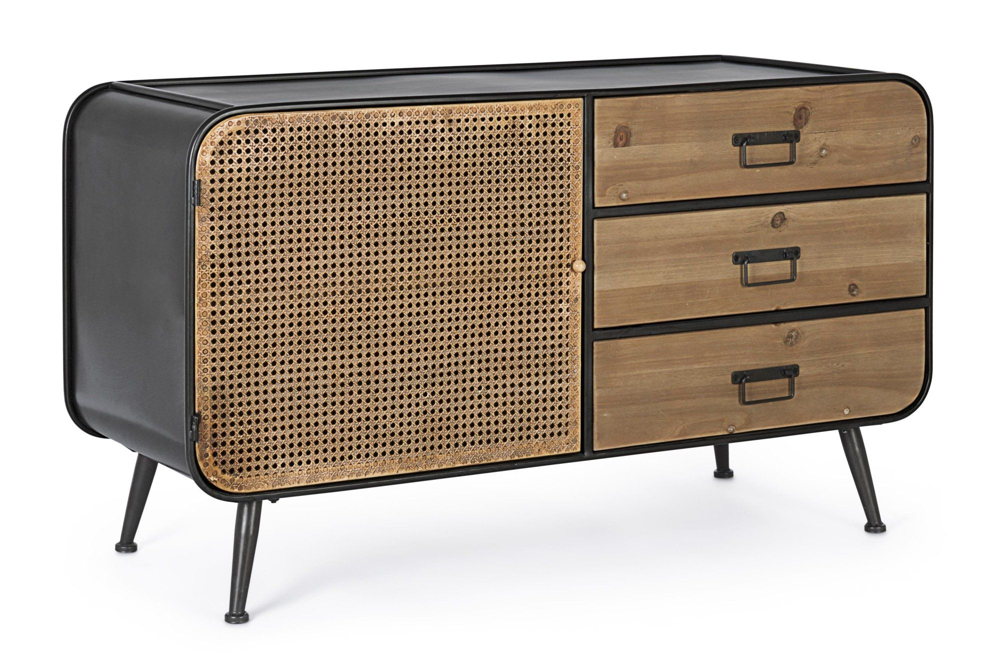 ELTON sideboard with 1 door and 3 drawers