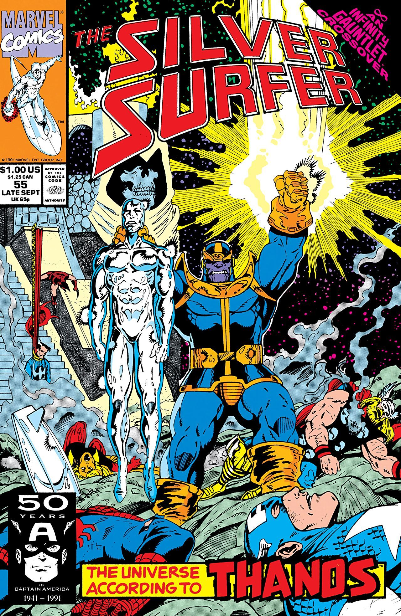 The Silver Surfer 55 The Universe According To Thanos
