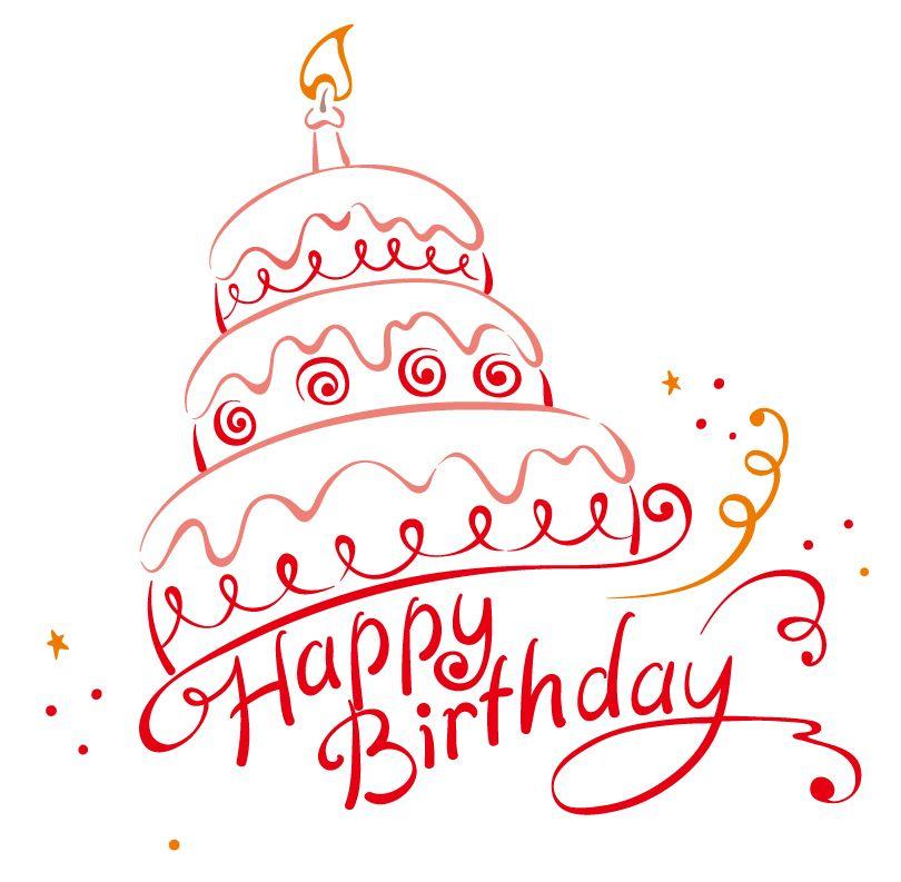 Happy Birthday Vector   Free Vector Graphic Download - Part 4 ...
