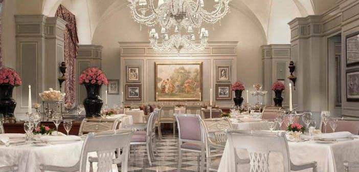 Il Palagio restaurant at Four Seasons Hotel Florence