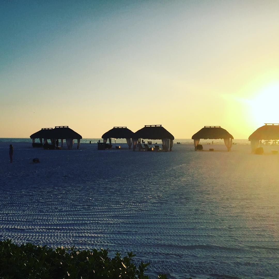 Marco Island Sunset from Marco Island Marriott - Photo by IG User ...