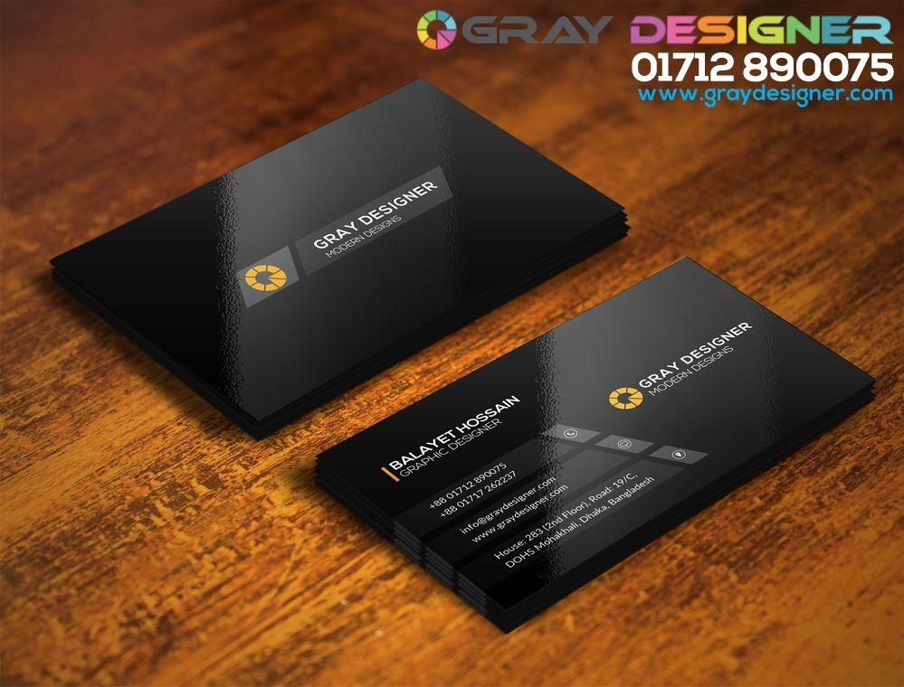 GrayDesignerVisitingCardJpg   Visiting Card