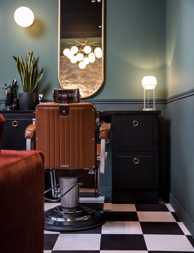 This Designer Barbershop in Nice Looks Like a Hipster's Hangout