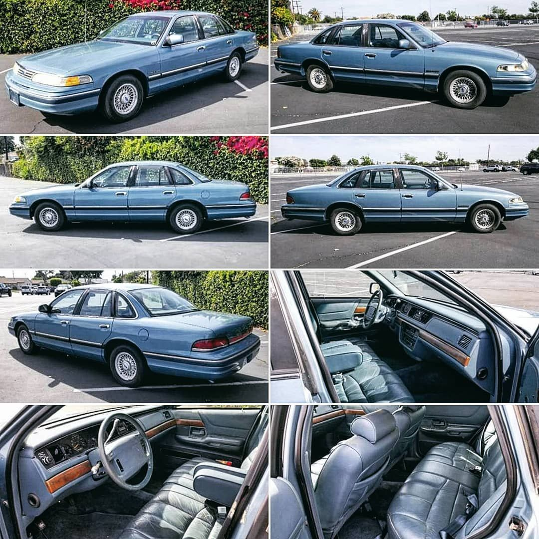 Cool Craigslist Cars On Instagram This One Owner First Generation 1993 Ford Crown Victoria Lx Is Still Like New And Ready For A Craigslist Cars Victoria Ford