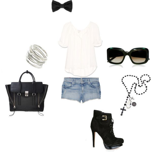 Something I would wear every where, created by imkayte on Polyvore