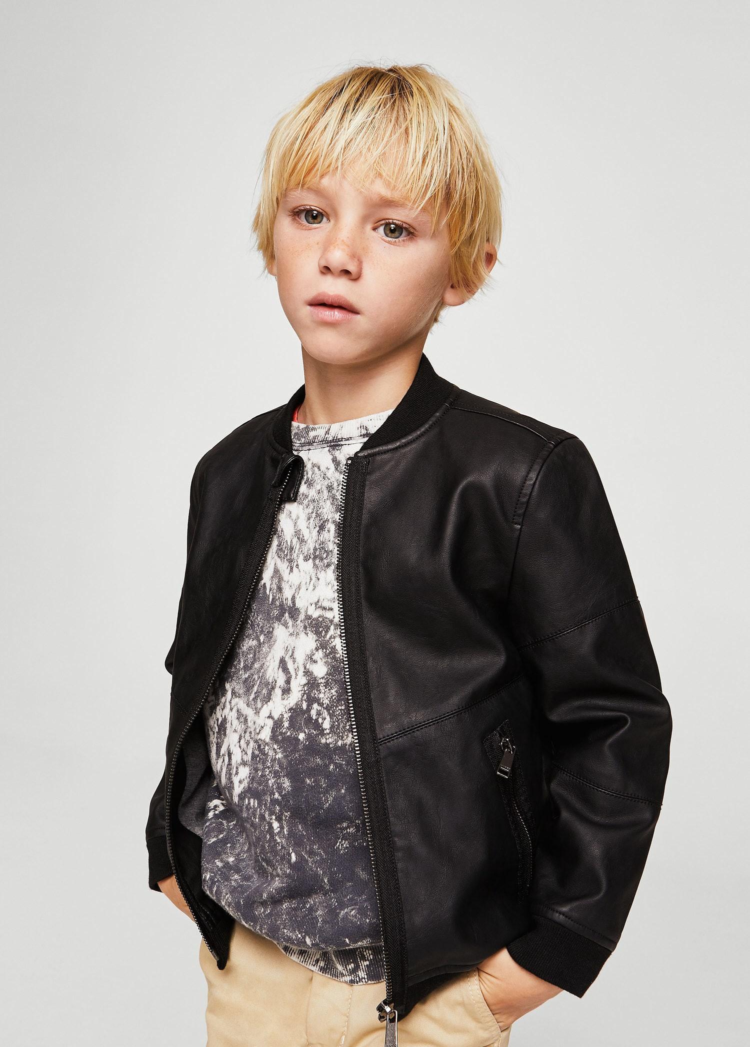 Mango Bomber Jacket Leather Effect Boys Kids 11 12 Years 152cm Boys Bomber Jacket Faux Leather Bomber Jacket Kids Leather Jackets [ 2095 x 1500 Pixel ]