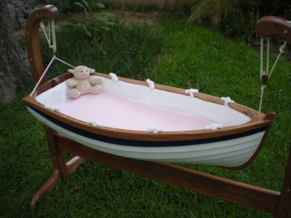 Baby Tender Bedding By Beaverboatworks On Etsy Rocking Cradle Baby Cradle Boat Bed