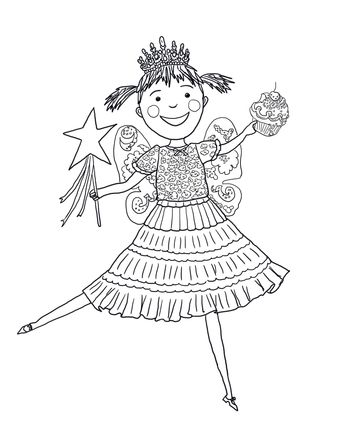 Pbs Kids Coloring Pages Pinkalicious