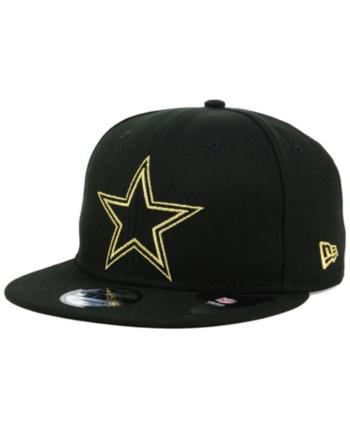 b2e57c433 New Era Dallas Cowboys Tracer 9FIFTY Snapback Cap - Black/Black ...