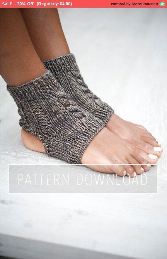 Knitting Pattern Yoga Socks Yoga Sock Pattern Knit Yoga