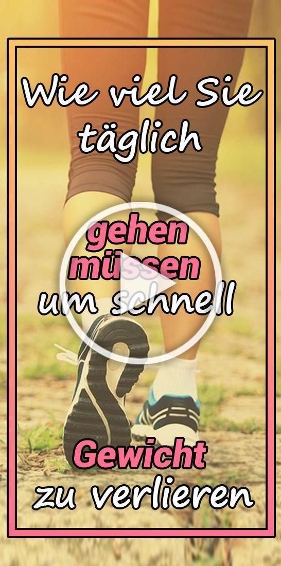 Combien vous devez marcher chaque jour pour perdre du poids rapidement   - Gesund und Fitness - #cha...