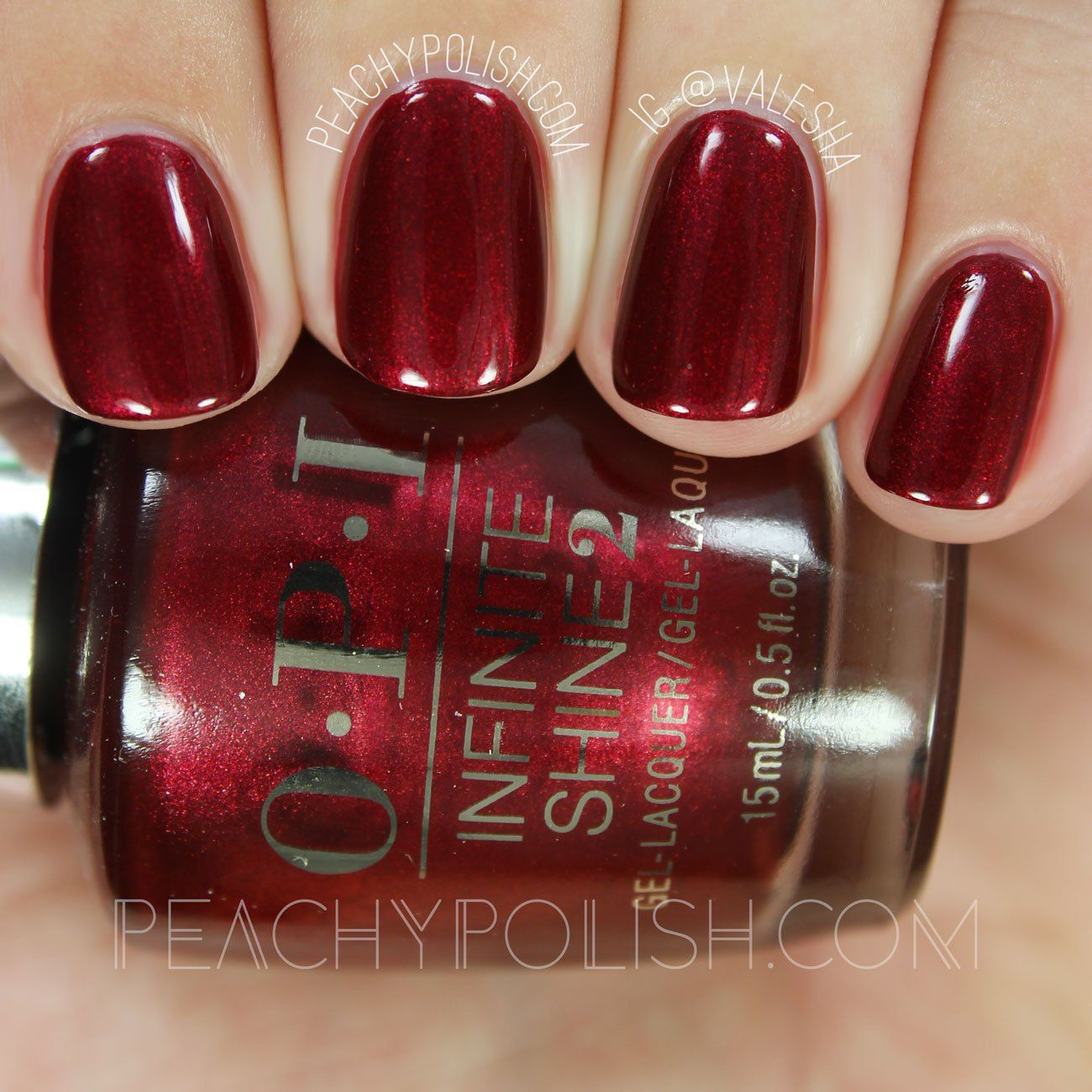 OPI I\'m Not Really A Waitress   Infinite Shine Iconic Collection ...