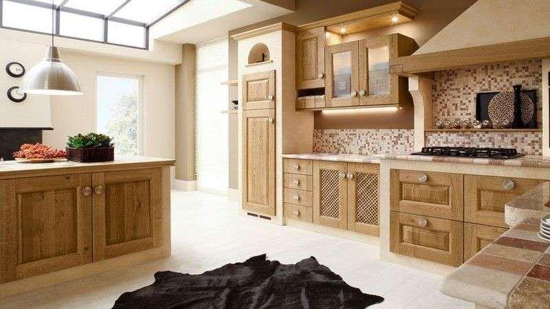 Cucine in finta muratura - Cucina con ante a telaio | Life hacks ...