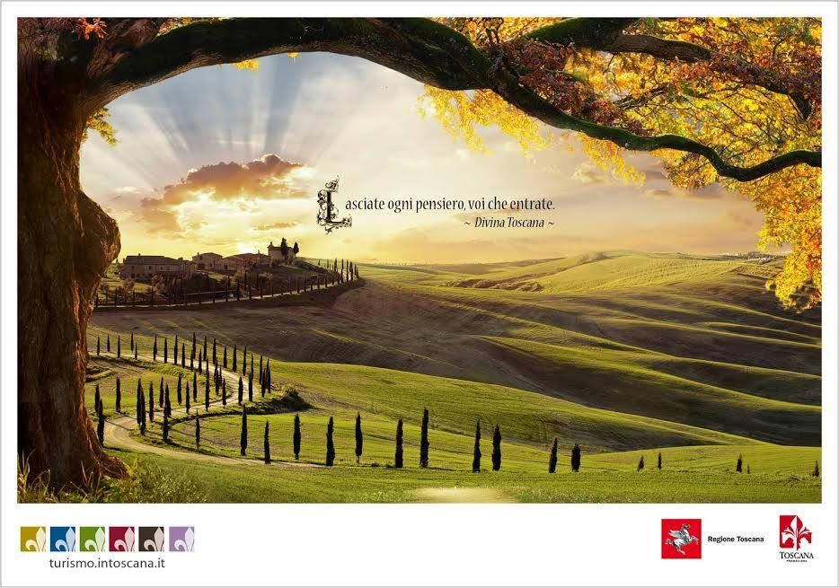 Divina Toscana -  The deadly sins Ad Campaign promoted by the Tuscany Government totally reinvent the 7s  #creative #advertising