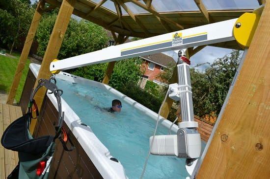 Case Studies Hot Tub Hydrotherapy Pool Hoist