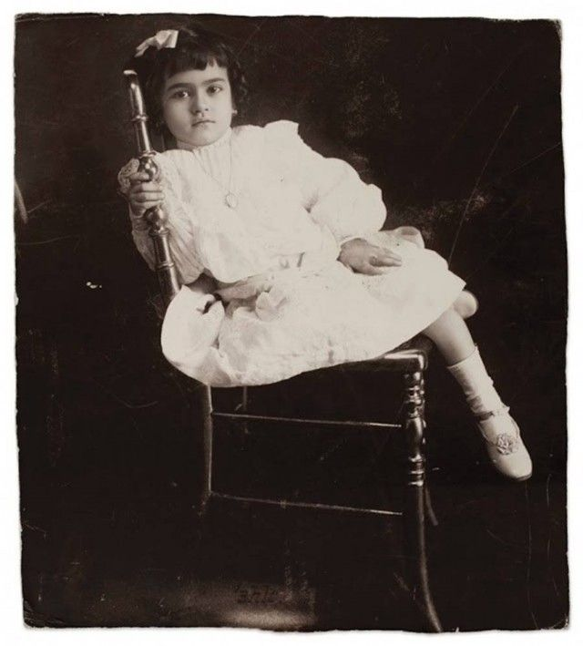 Frida Kahlo at age 5 in 1912