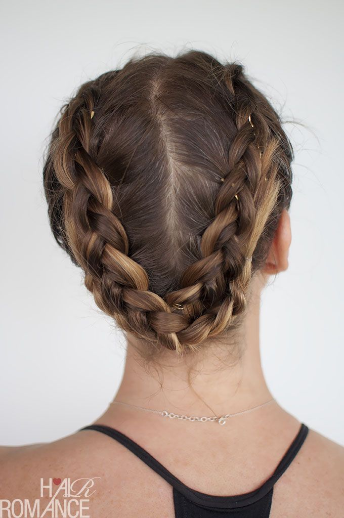 Hair Romance - gym workout hairstyle - click through for the full tutorial