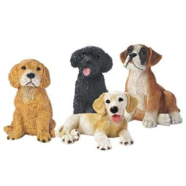 Puppy Dog Lovers Statues $29.95