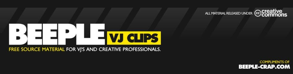 These free VJ loops are intended as source material for