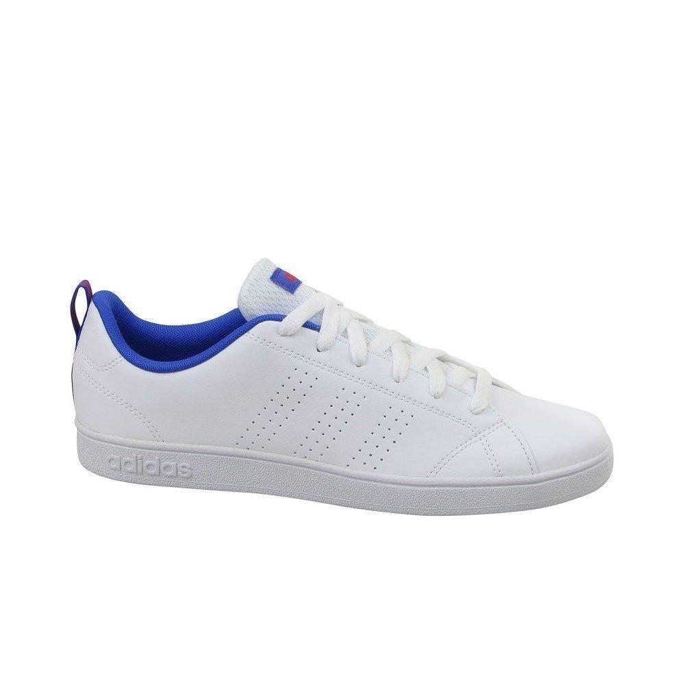 Adidas VS Advantage CL K DB0686 white halfshoes #fashion