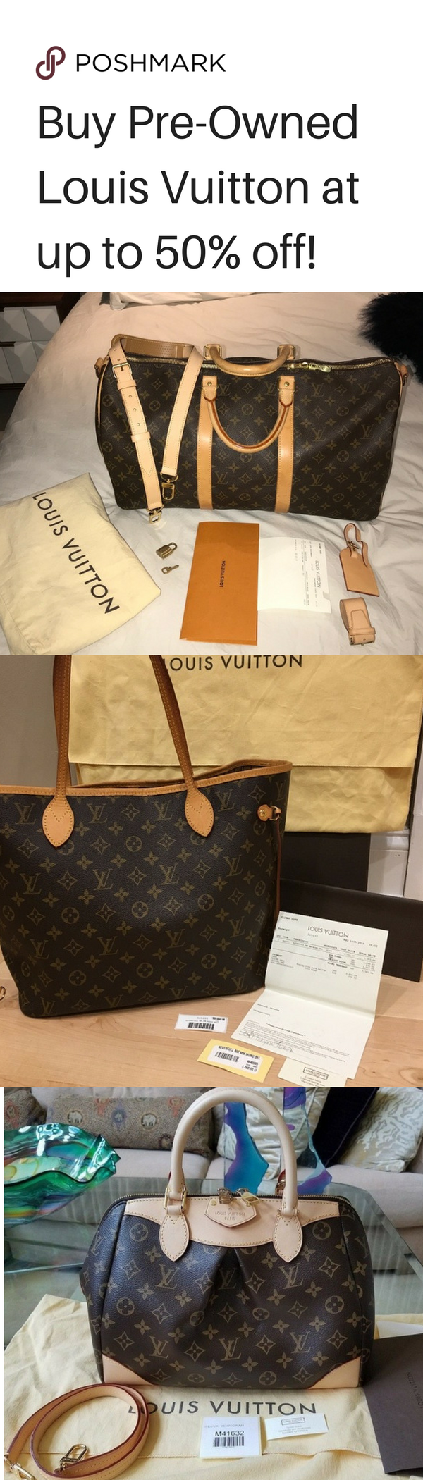 3bdc5735c46c Save money on Louis Vuitton   more! Buy and Sell Authentic Luxury Brands at  Poshmark! Install for Free now! Shipping is also fast and easy for sellers  and ...
