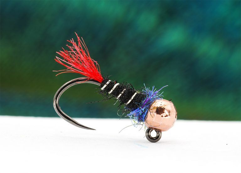 Grayling and Trout Flies. Red Tag