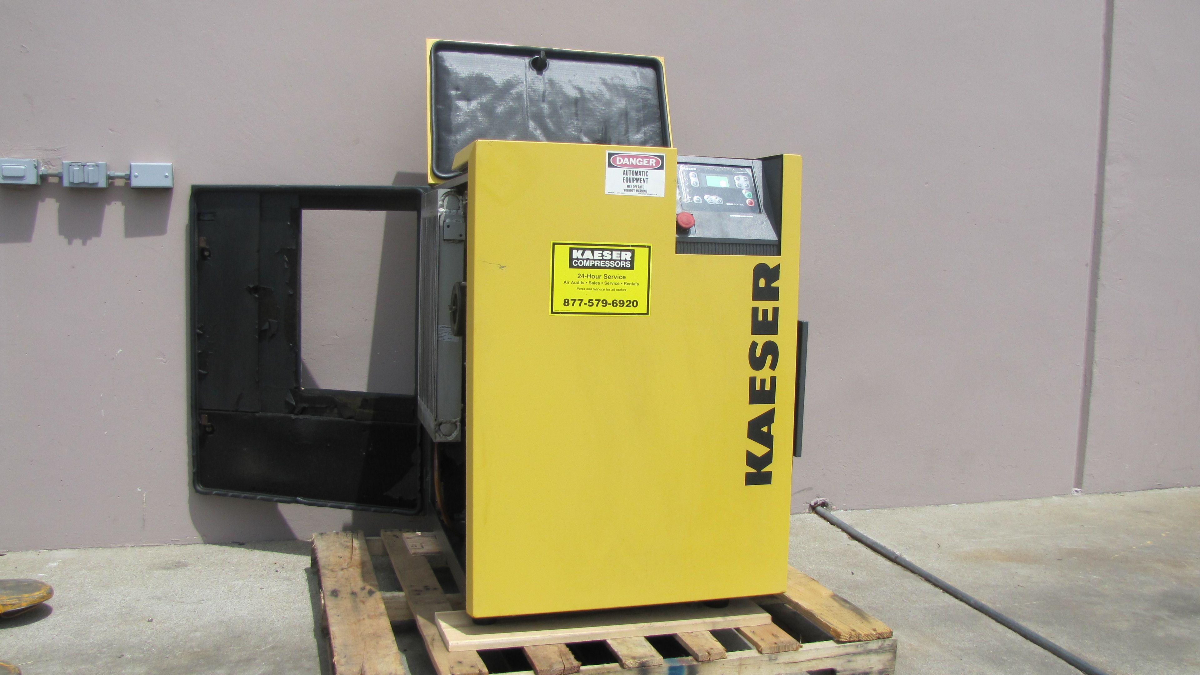 Kaeser rotary screw compressor Locker storage, Air