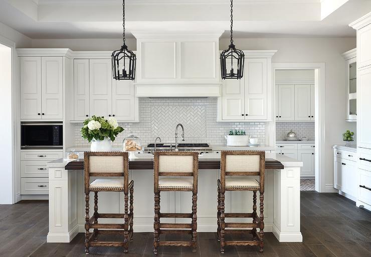 Download Wallpaper White Kitchen Island Bar