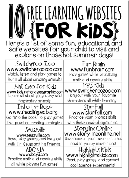 preschool resources for parents list of and educational websites for parents to use 431