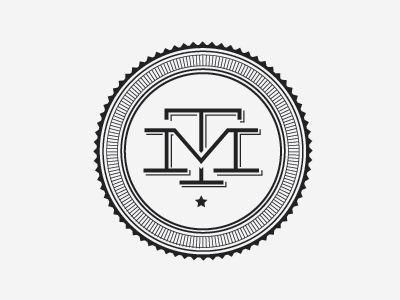Tm Monogram Design Pinterest Monograms