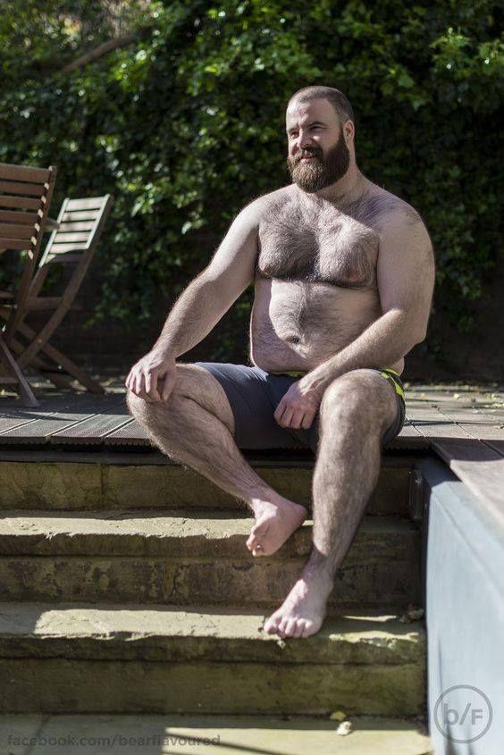Pin by sfwoof on Mature Man Feet   Daddy bear, Chubby men, Men