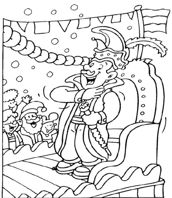 Celebration Mardi Gras Coloring Pages For Kids | Kids Coloring Pages ...
