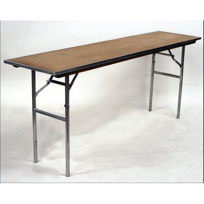 Maywood Furniture Standard Series Rectangular Folding Table