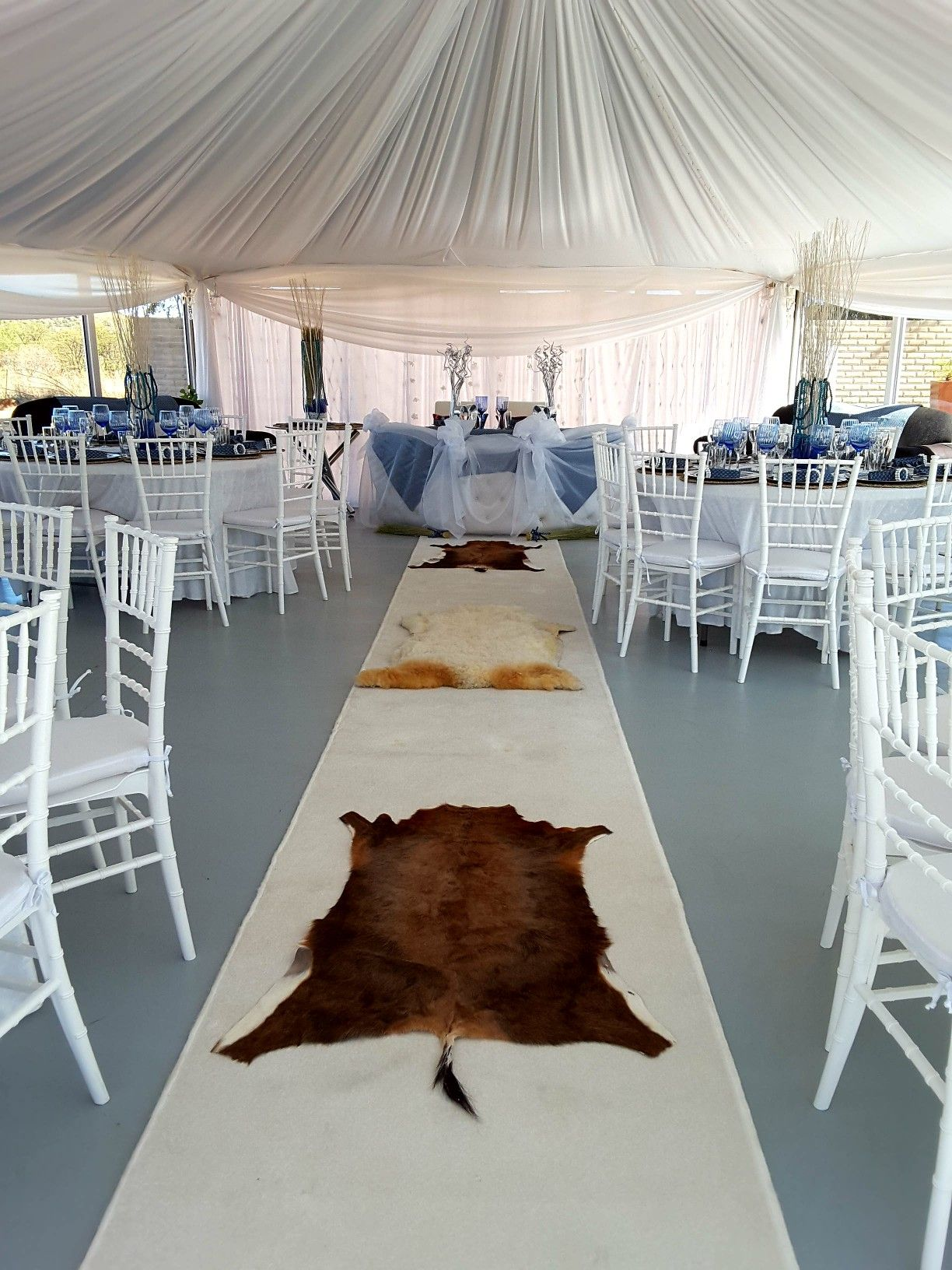 Tshivenda traditional wedding decor  Nchoba Thabo nchobathabo on Pinterest