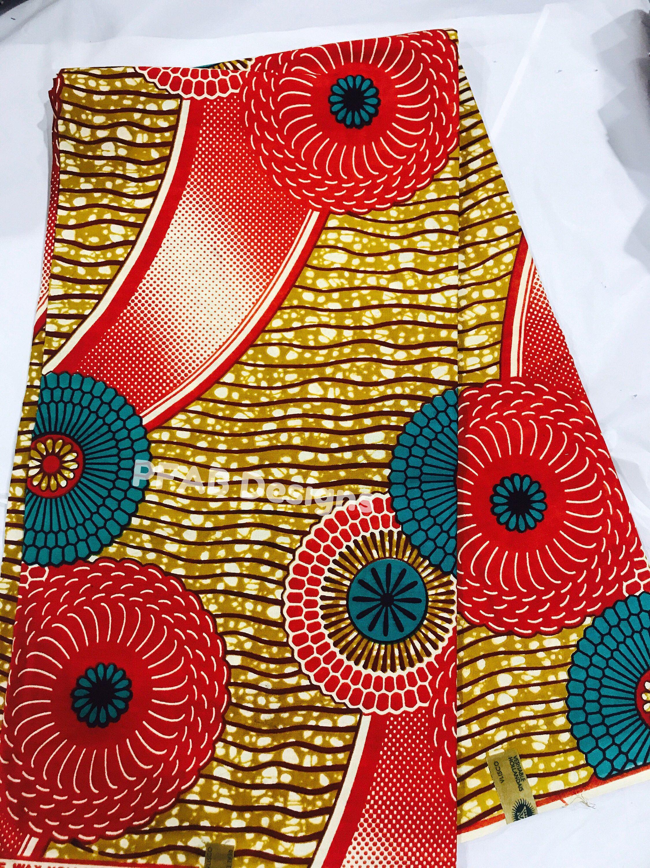 African Wax ANKARA Imprimé 100/% Coton Tissu Artisanat Quilting Qualité à Coudre Arts
