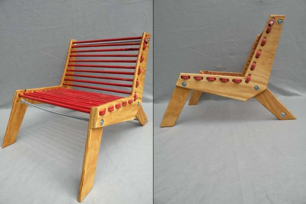 Make Your Own Rubber Hose Chair | Cheap comfy chairs ...