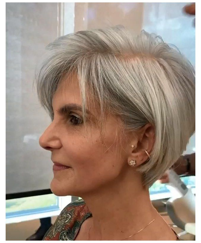 hairstyles for thin hair fine over 50