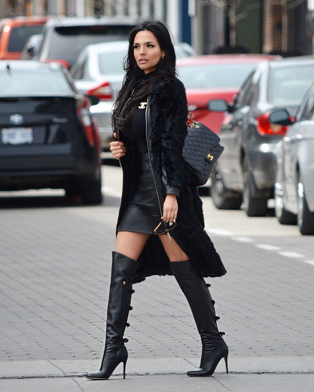 Pin By Mela K On Styleee In 2019 Fashion Boots Black
