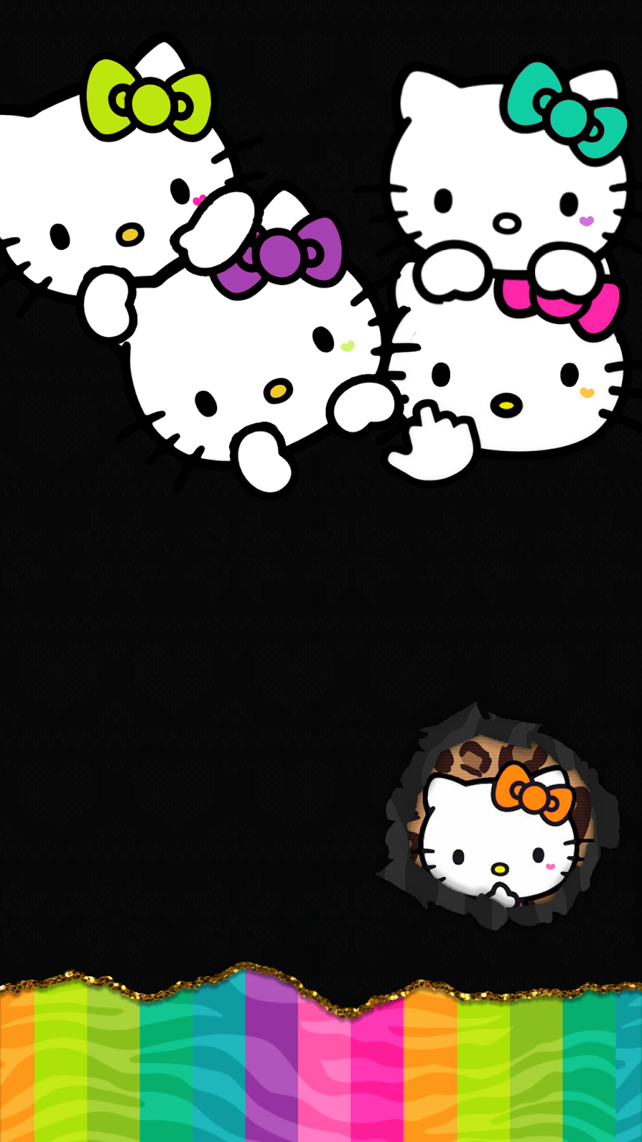 Nanipixels Hello Kitty Pinterest Hello Kitty Wallpaper Kitty