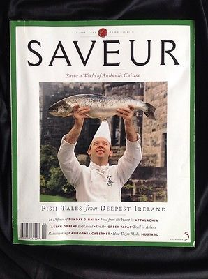 RARE-Issue-5-Saveur-Magazine-March-April-1995-Fish-Tales-from-Deepest-Ireland