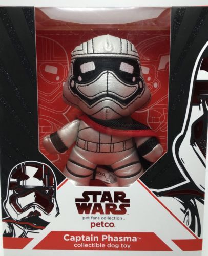 Petco Star Wars Toy Licensed Captain Phasma Force Awakens Dog