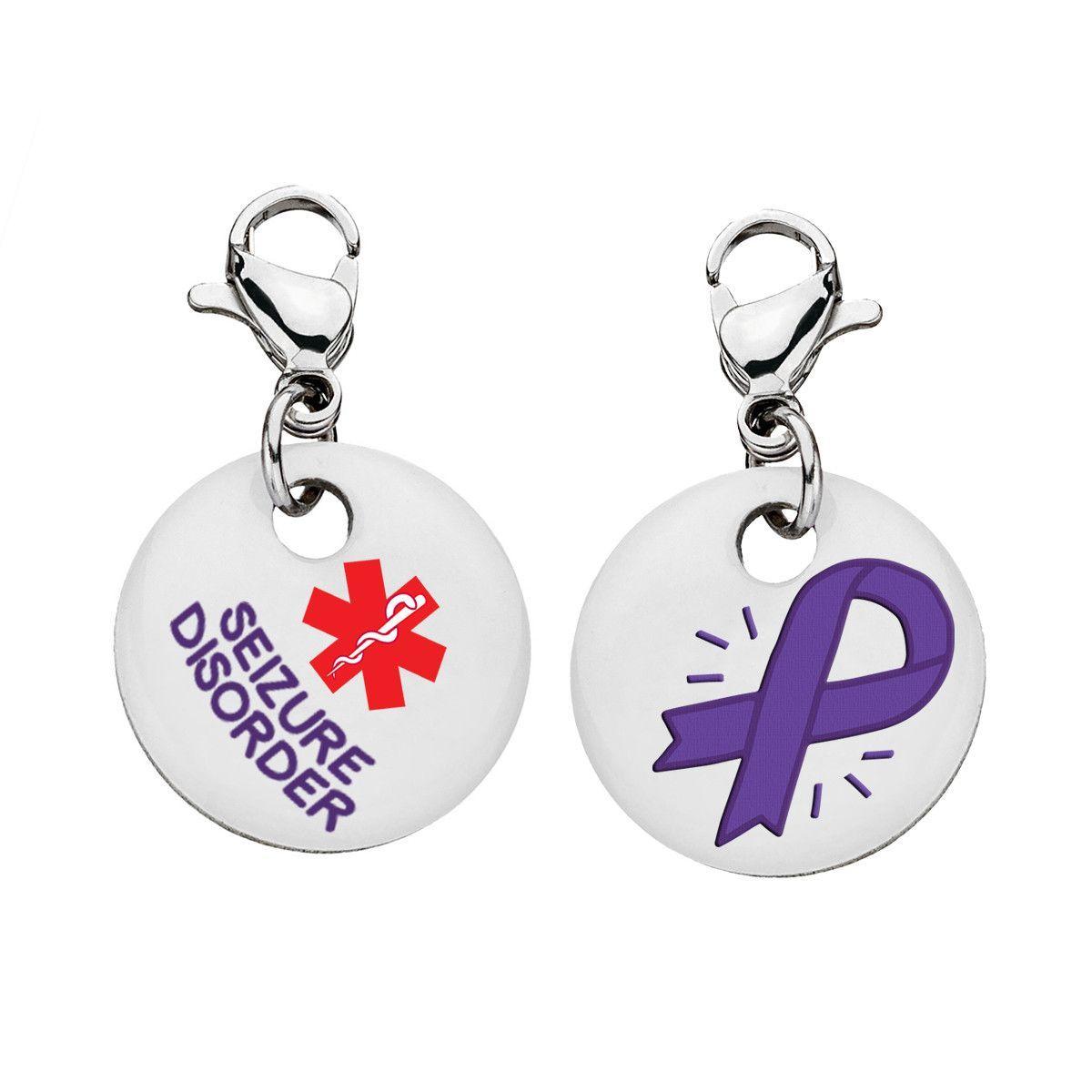 Seizure Disorder Bracelet Charm Medium